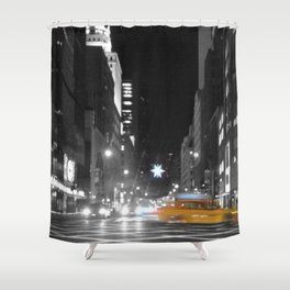 Holiday Season in New York City Shower Curtain