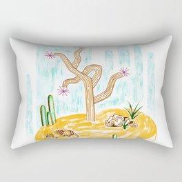 Floating Desert Rectangular Pillow