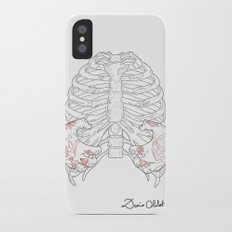Human ribs cage iPhone X Slim Case