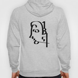 Numbers Face Hoody