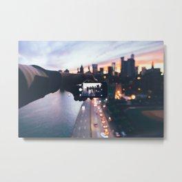 FDR Drive : Sunset Metal Print