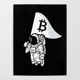 Bitcoin Astronaut Poster