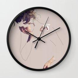 Natalie, my luv Wall Clock