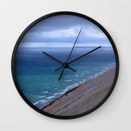 Sleeping Bear Dunes Wall Clock