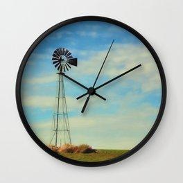 Farm Windmill Wall Clock