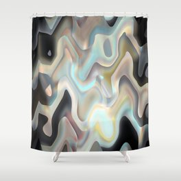 Luminescence Shower Curtain