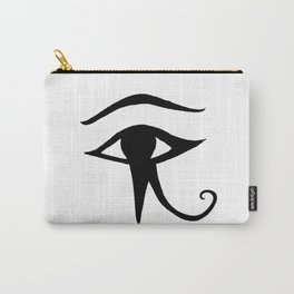 JAMILA logo ~ Eye of Horus Carry-All Pouch