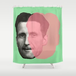 George Orwell Shower Curtain