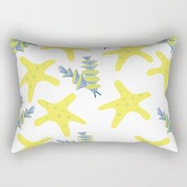 Background of sea Rectangular Pillow