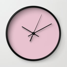 Parfait Pink Wall Clock