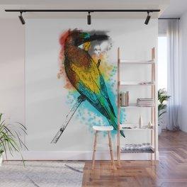 i am the bird am i? Wall Mural