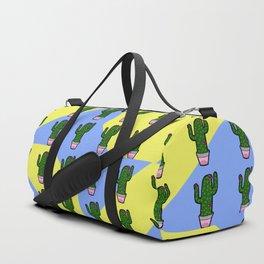 Cactus Pattern 2 Duffle Bag