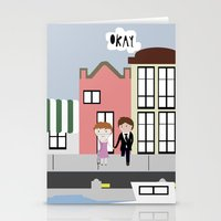 tfios Stationery Cards featuring Amsterdam (TFIOS) by Natasha Ramon