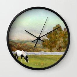 Mountain Vista Wall Clock