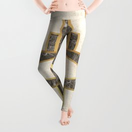 Luxurious gold and marble Leggings
