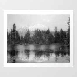 View of Mount Shasta Art Print