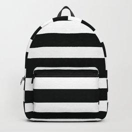 Black & White Stripes Backpack