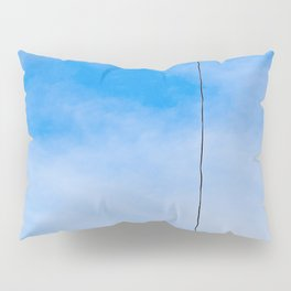 Let There Be Light Electric Bulbs Out Of The Blue Pillow Sham