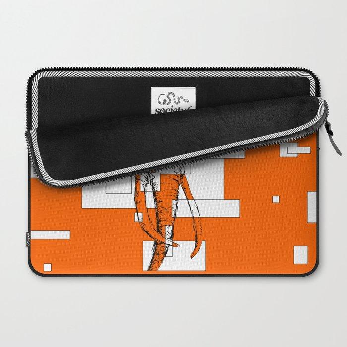 Orange is the New Elephant Laptop Sleeve