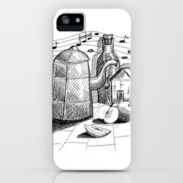 Letter in the bottle iPhone Case