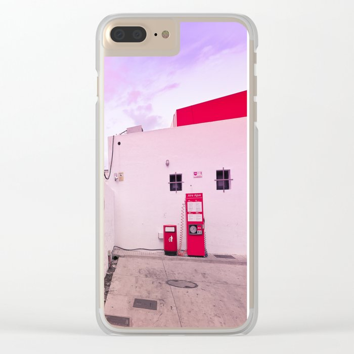 Gas Station Clear iPhone Case