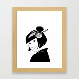 Clink! Framed Art Print