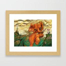 Phantasy Framed Art Print