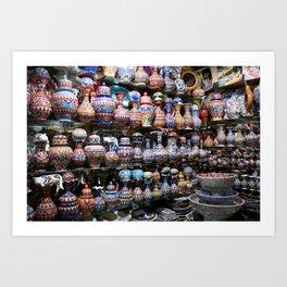 grand bazaar Art Print