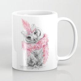 Glamourous Owl 1920s Coffee Mug