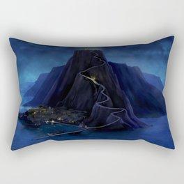 Deep in the Caribbean - Mêlée Island Rectangular Pillow