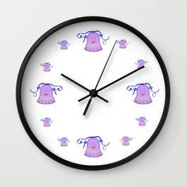 Bell & Egg Wall Clock