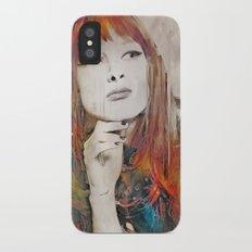 Maybe Portrait iPhone X Slim Case