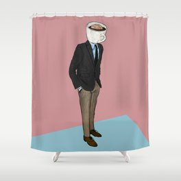 IT'S MORNING AND I THINK OF YOU Shower Curtain