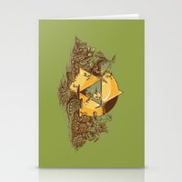 hyrule Stationery Cards featuring Keep Hyrule Green by TEEvsTEE
