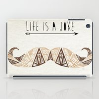 moustache iPad Cases featuring moustache by Manoou