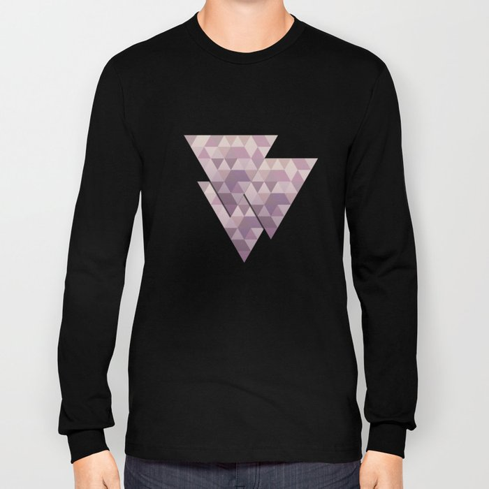 Triangles Long Sleeve T-shirt