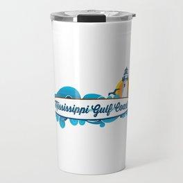 Mississippi's Gulf Coast. Travel Mug