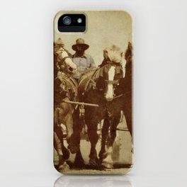 Team Of Horses iPhone Case