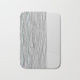 Digital Lines Bath Mat