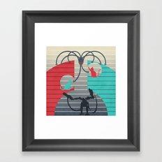 The battle for Zion Framed Art Print