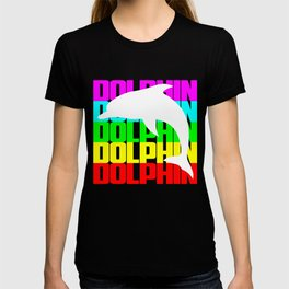 DOLPHIN PRESENTS T-shirt