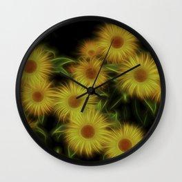 Fractal Doronicum Caucasicum's Wall Clock