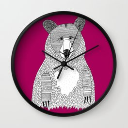 This bear Wall Clock