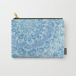 Blueberry Lace Carry-All Pouch