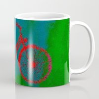 bicycle Mugs featuring Bicycle by Mr and Mrs Quirynen