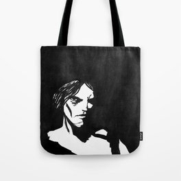 Human eye look beyond Tote Bag