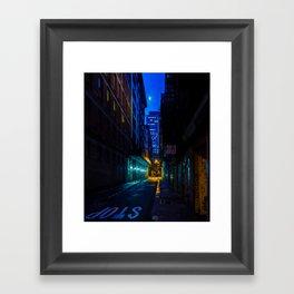 Back Alley Beauty Framed Art Print