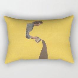 Torn Apart — Coffee Rectangular Pillow