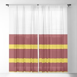 ASU and Me Sheer Curtain