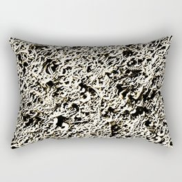 Relief Pattern Abstract Rectangular Pillow